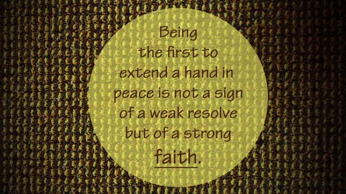 WEAKRESOLVESTRONGFAITH
