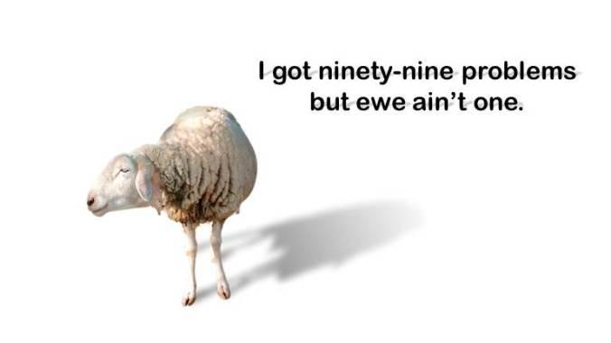 ewe aint one