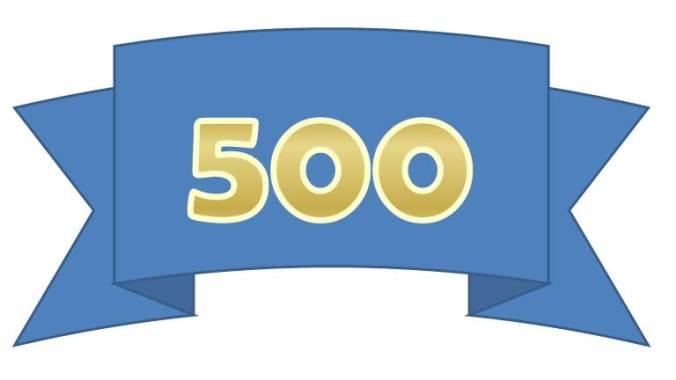 500th_Post