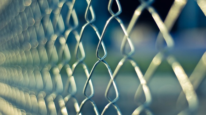 Chain Link Border Fence